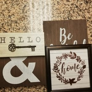 5pc wall art for home